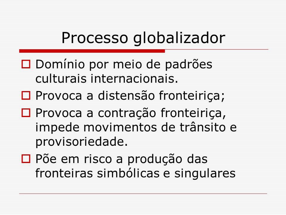 Processo globalizador