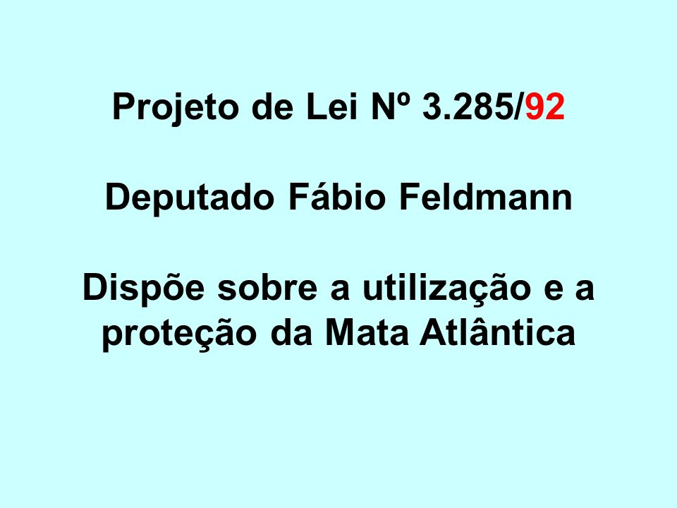 Deputado Fábio Feldmann