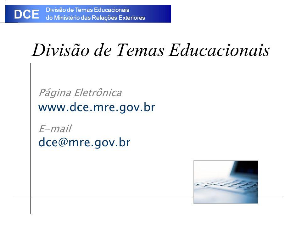 Divisão de Temas Educacionais