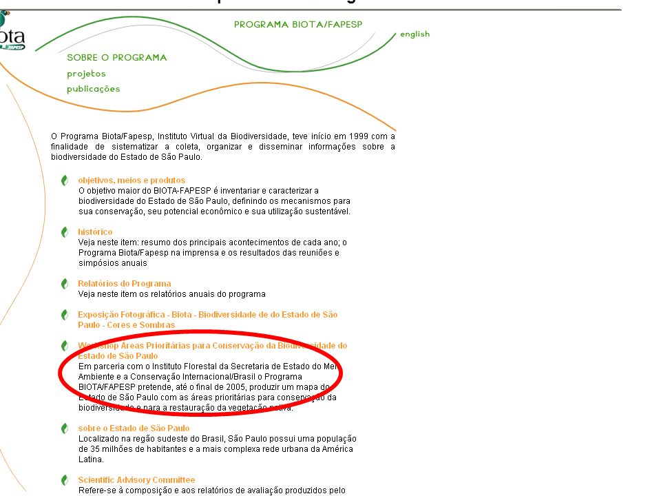 http://www.biota.org.br/info/index http://www.biotaneotropica.org.br/usage/