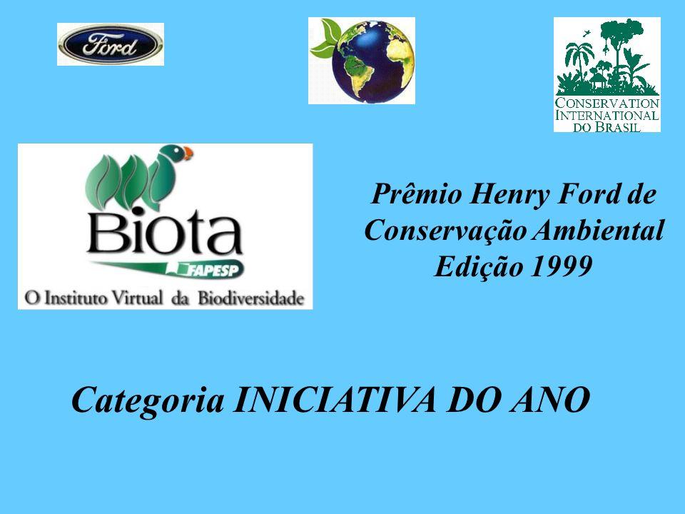 Prêmio Henry Ford de Conservação Ambiental Edição 1999