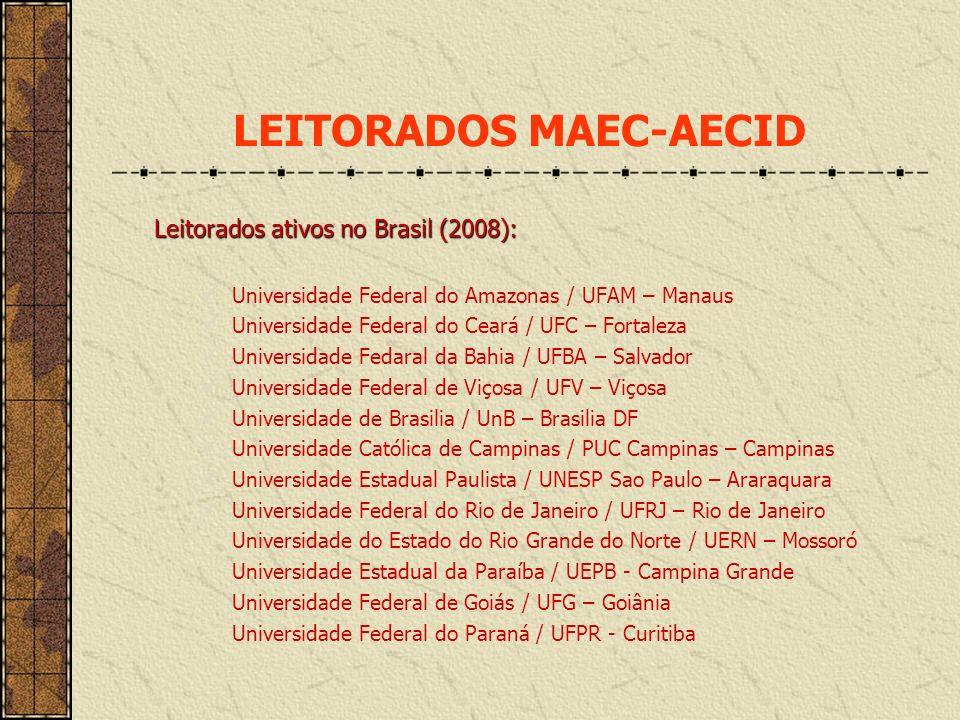 LEITORADOS MAEC-AECID