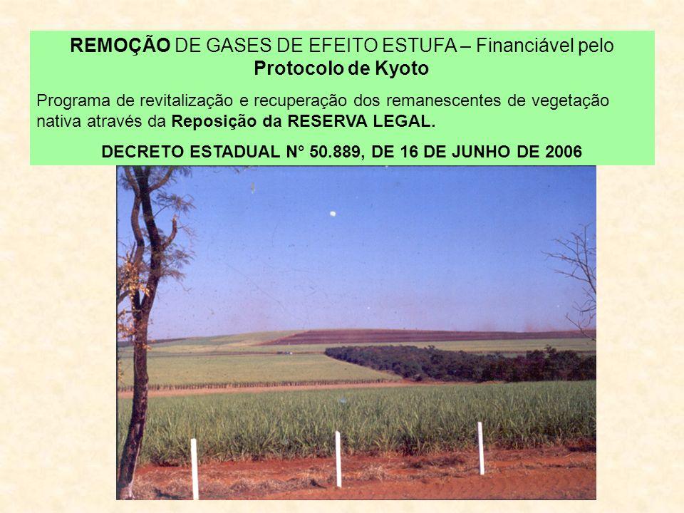 DECRETO ESTADUAL N° 50.889, DE 16 DE JUNHO DE 2006