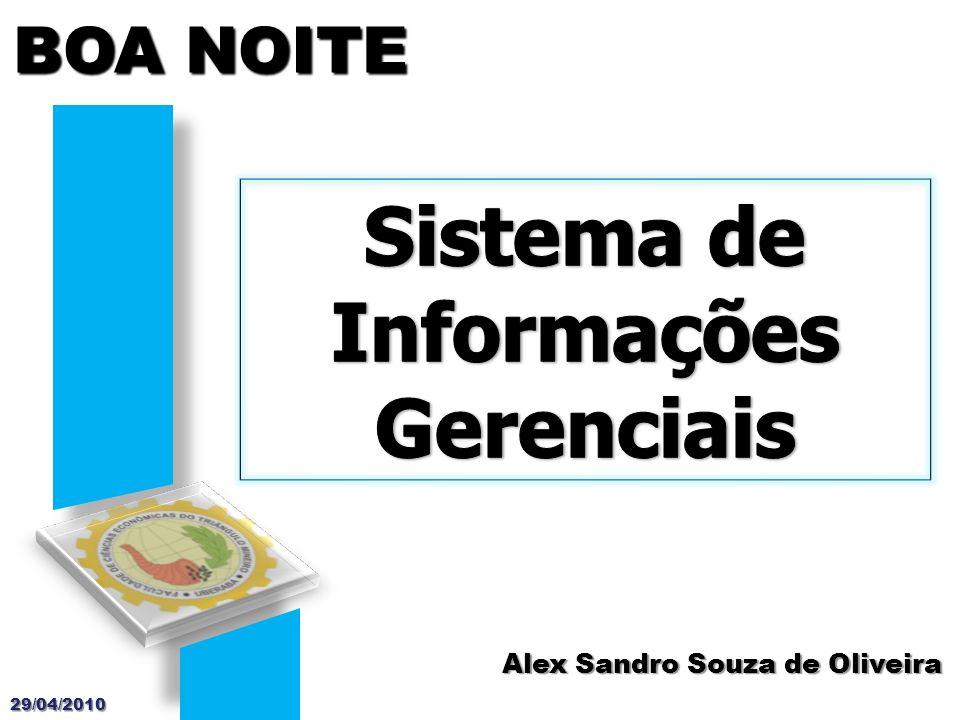 Sistema de Informações Gerenciais