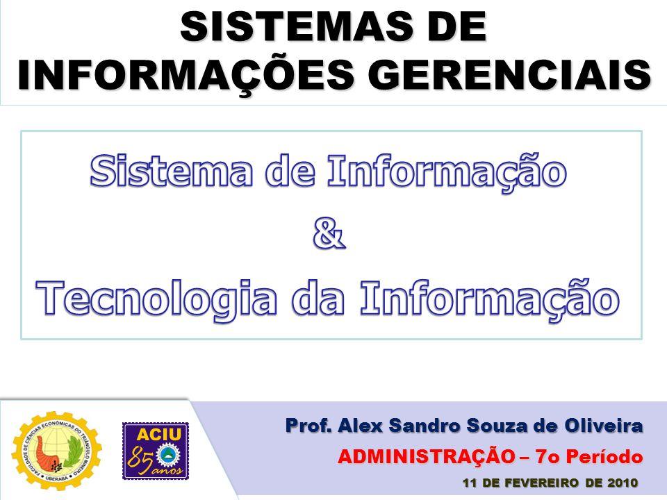 SISTEMAS DE INFORMAÇÕES GERENCIAIS Tecnologia da Informação