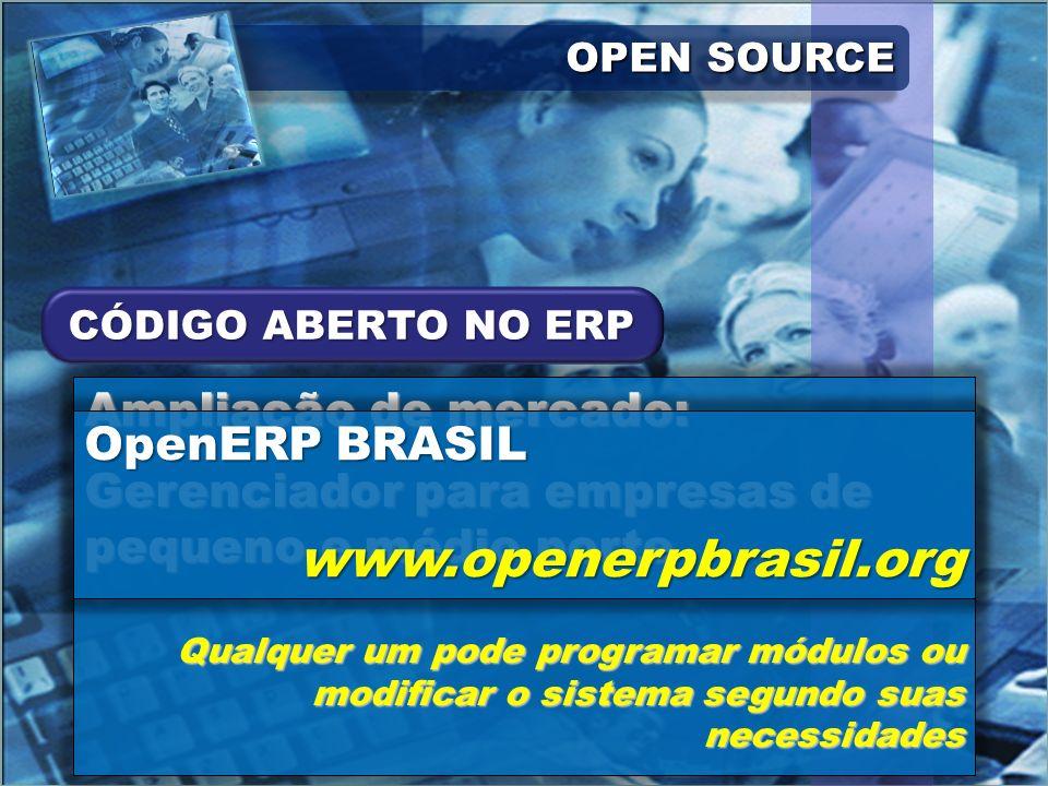 www.openerpbrasil.org Ampliação de mercado: OpenERP BRASIL