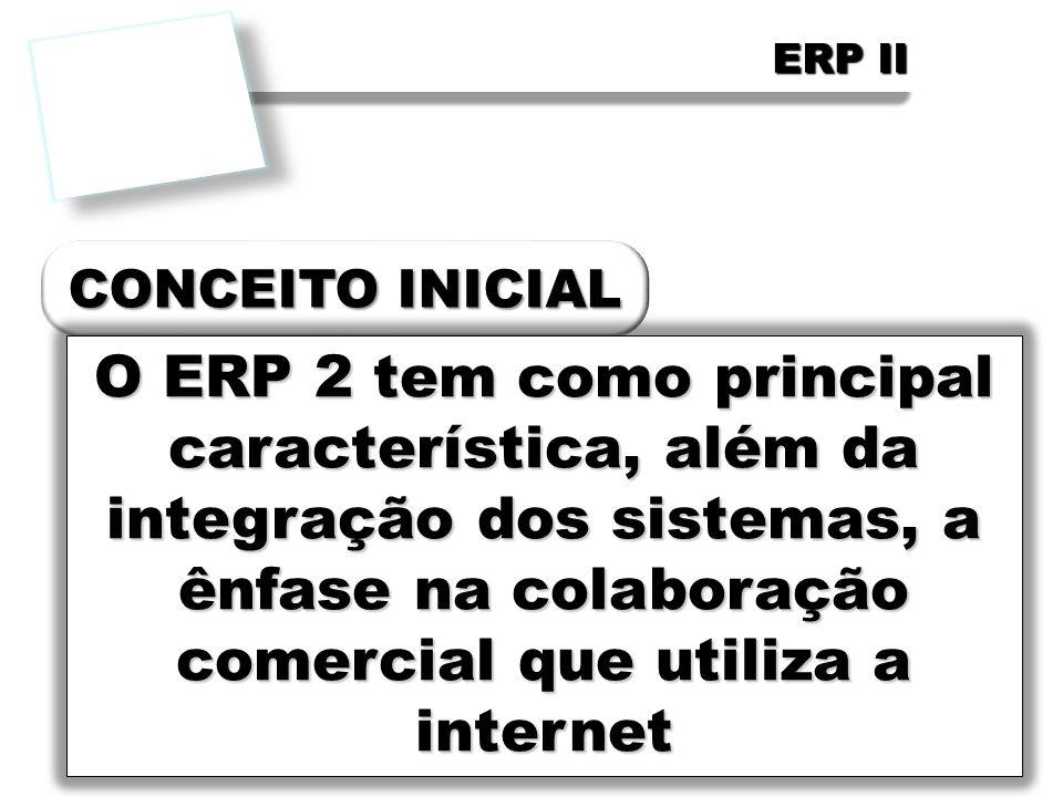 FCETM - Administração ERP II. CONCEITO INICIAL.