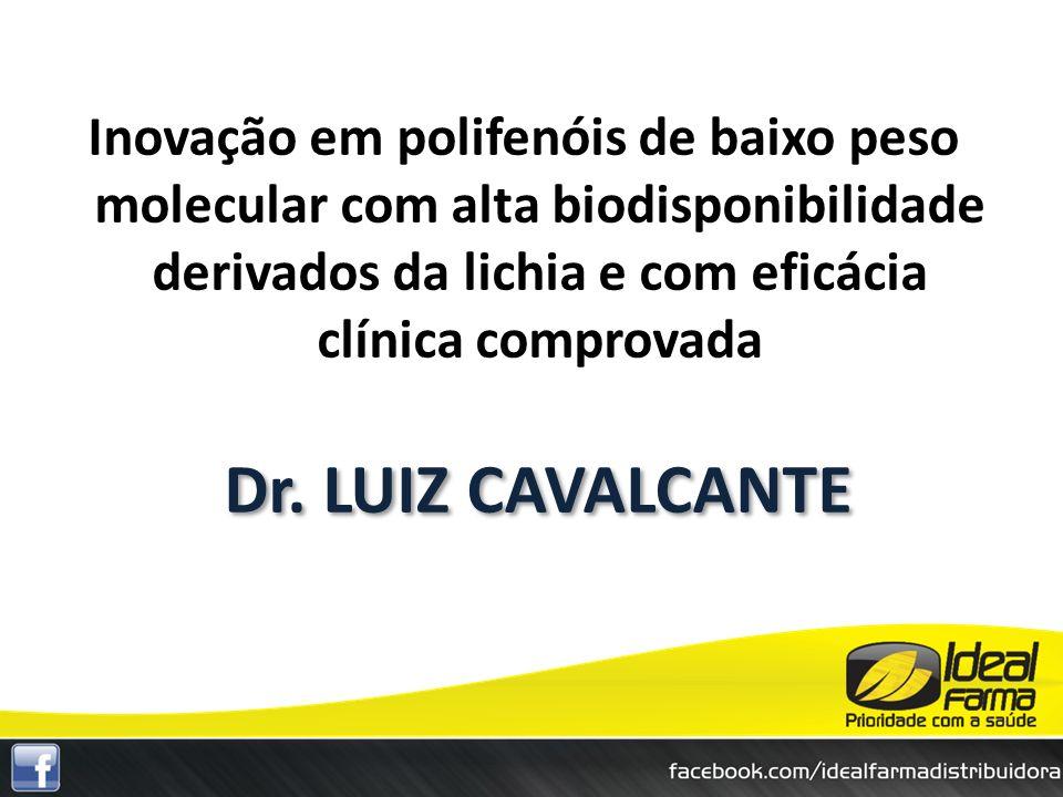 Inovação em polifenóis de baixo peso molecular com alta biodisponibilidade derivados da lichia e com eficácia clínica comprovada