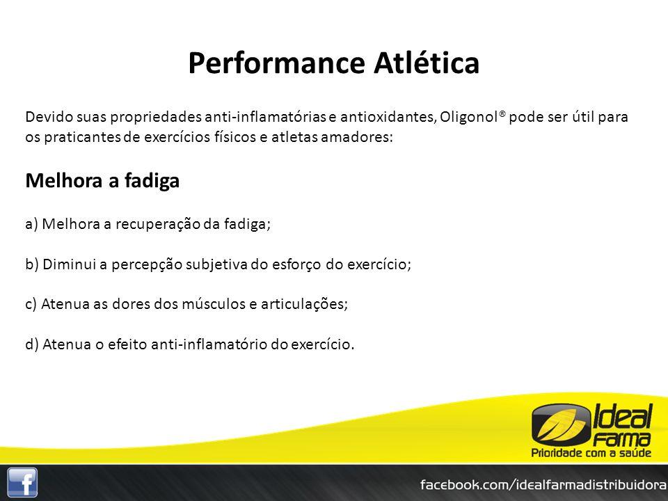 Performance Atlética Melhora a fadiga