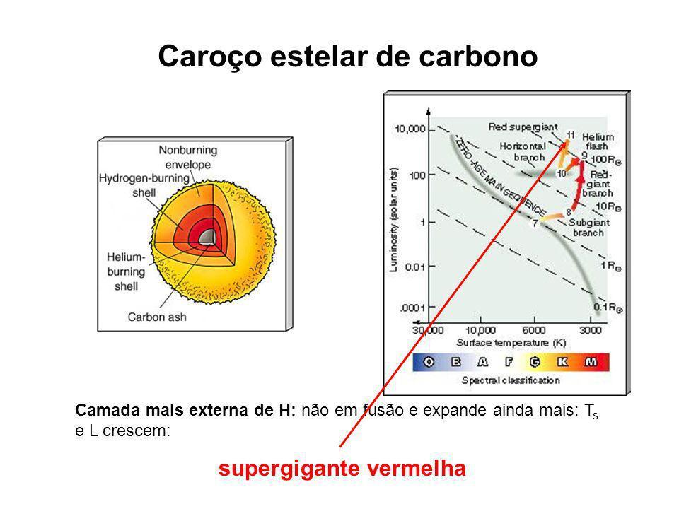 Caroço estelar de carbono