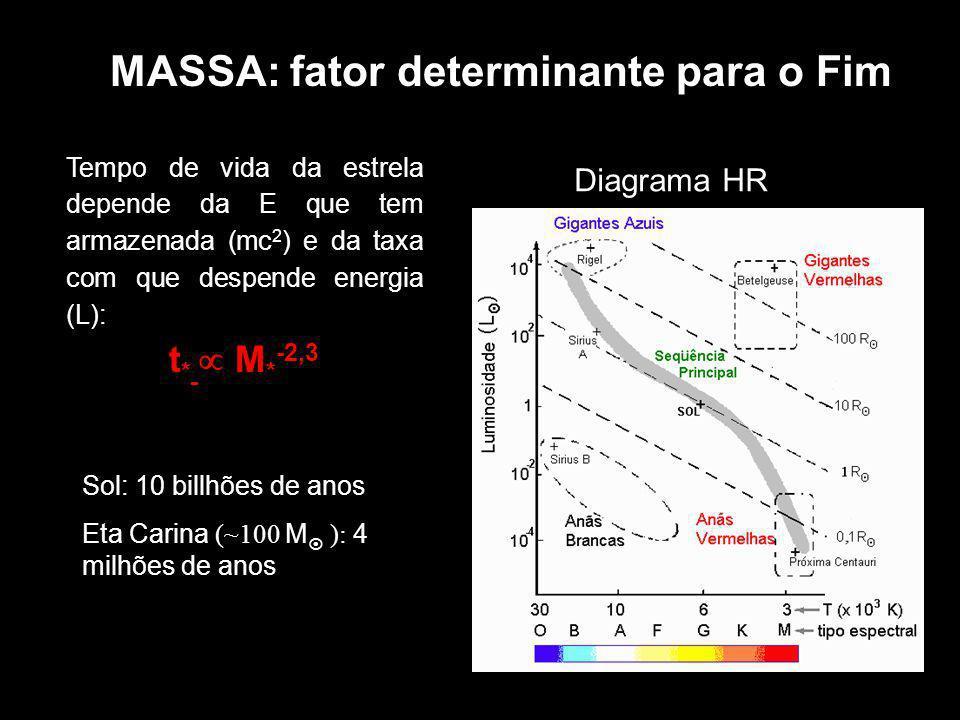 MASSA: fator determinante para o Fim