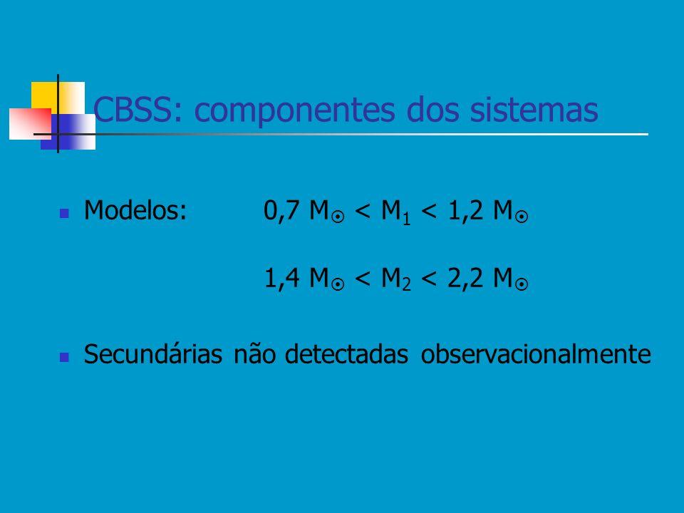 CBSS: componentes dos sistemas