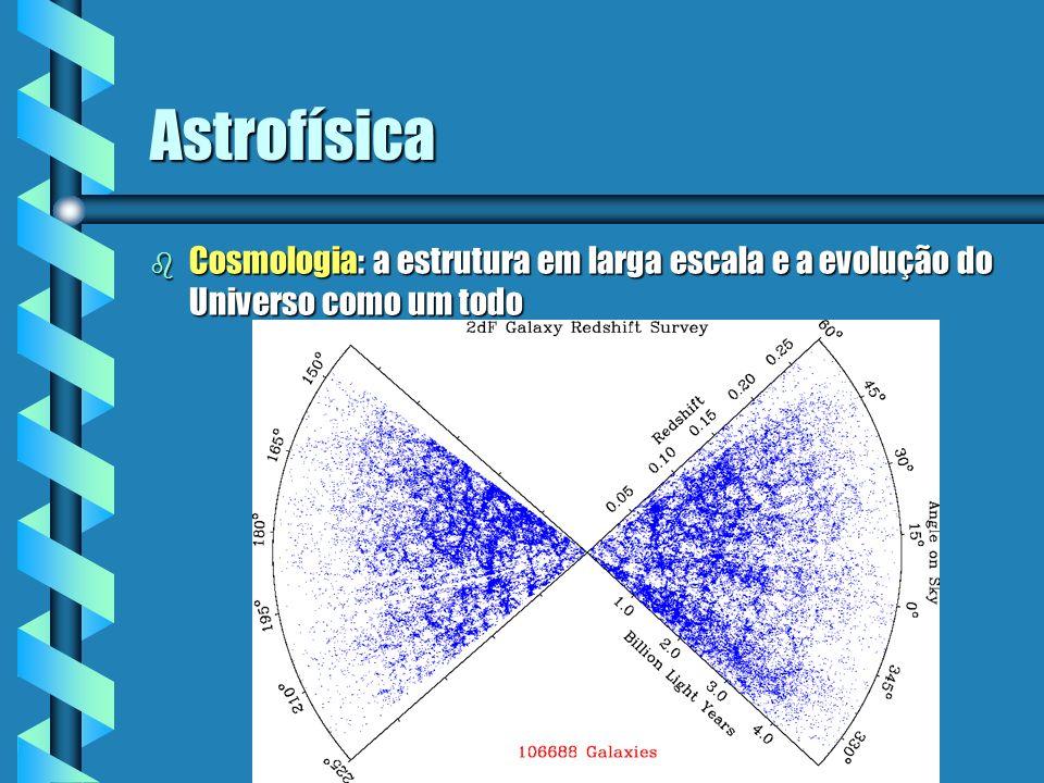 Astrofísica Cosmologia: a estrutura em larga escala e a evolução do Universo como um todo
