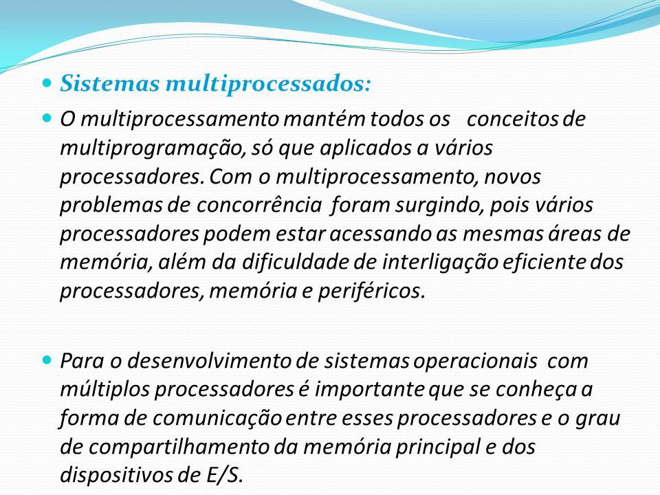 Sistemas multiprocessados: