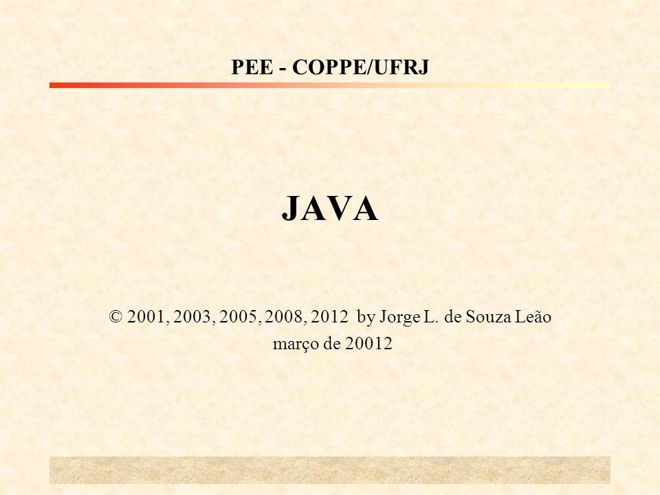 © 2001, 2003, 2005, 2008, 2012 by Jorge L. de Souza Leão