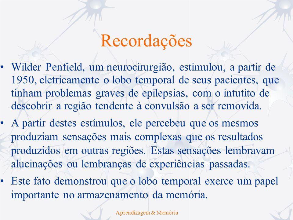 Aprendizagem & Memória