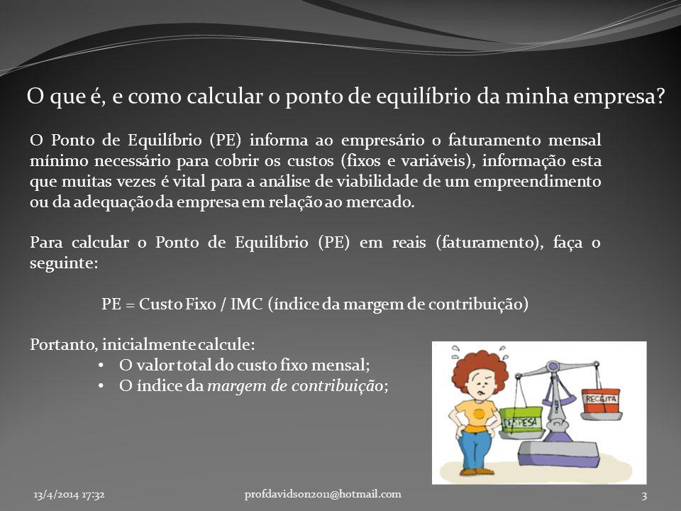 O que é, e como calcular o ponto de equilíbrio da minha empresa