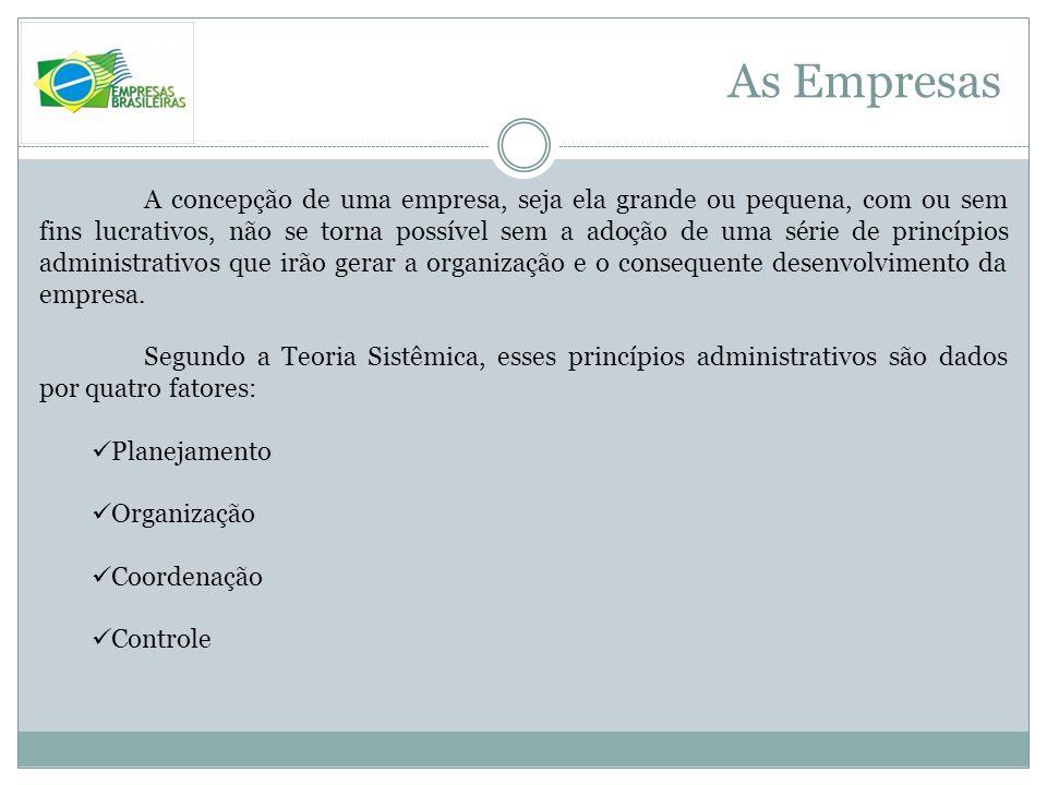 As Empresas