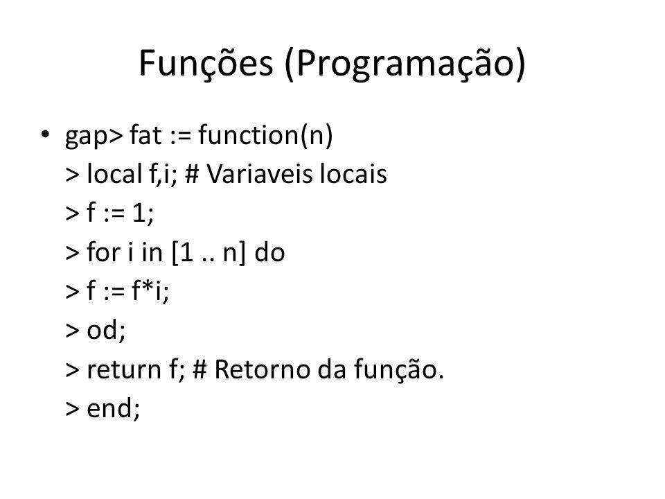 Funções (Programação)