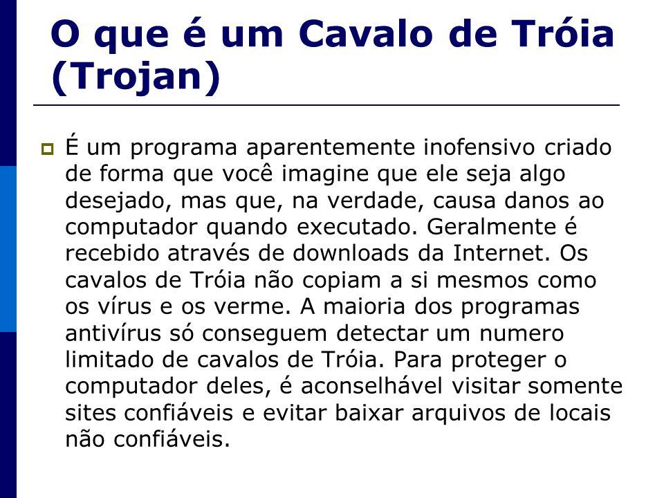 O que é um Cavalo de Tróia (Trojan)