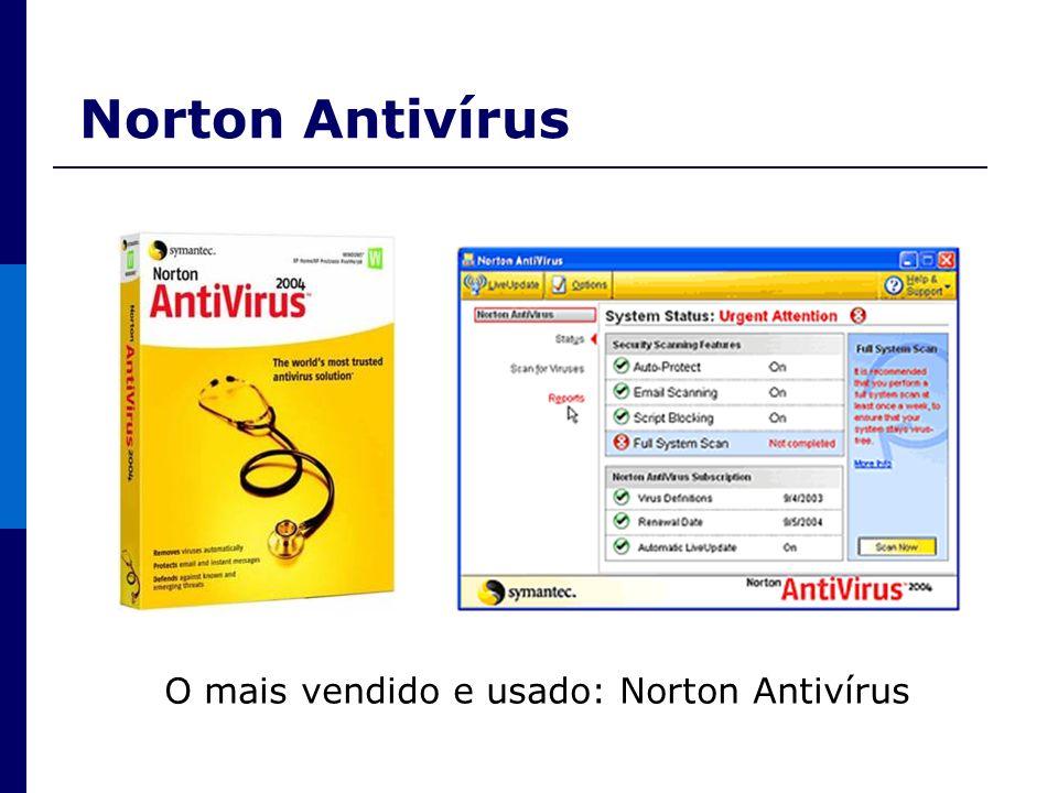 O mais vendido e usado: Norton Antivírus
