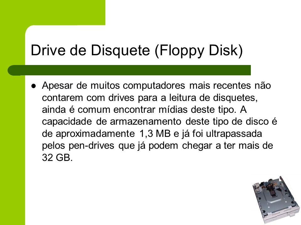 Drive de Disquete (Floppy Disk)