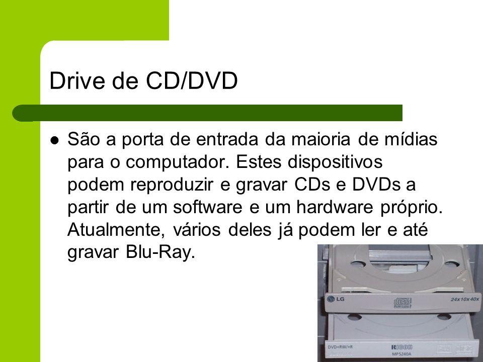Drive de CD/DVD