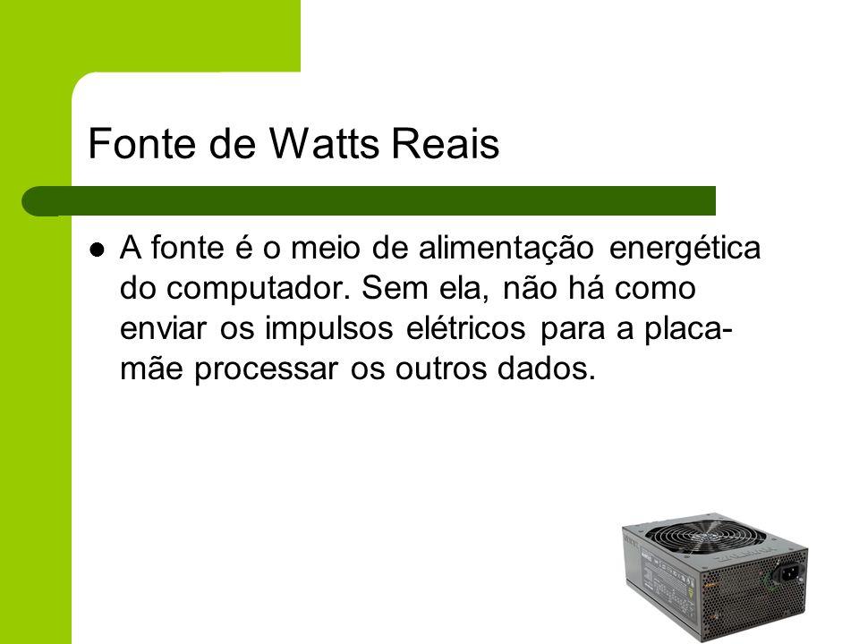 Fonte de Watts Reais
