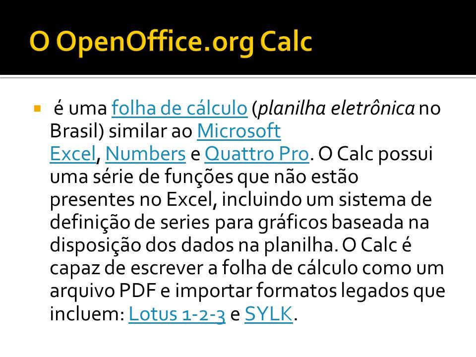 O OpenOffice.org Calc