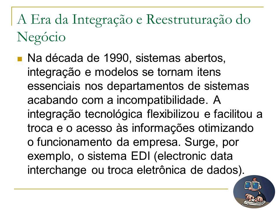 A Era da Integração e Reestruturação do Negócio