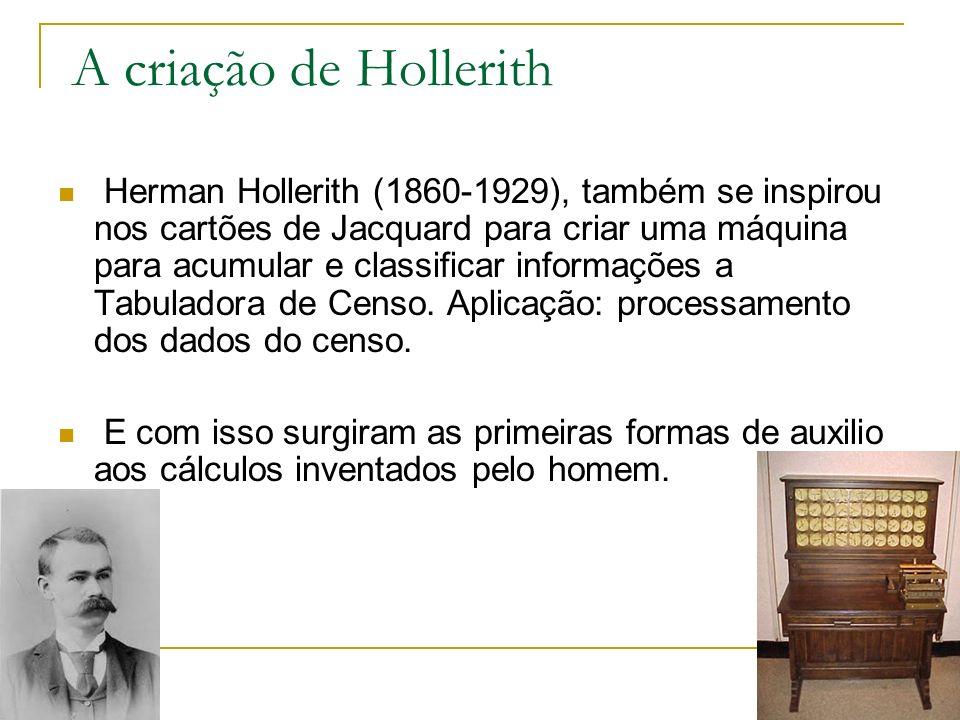 A criação de Hollerith