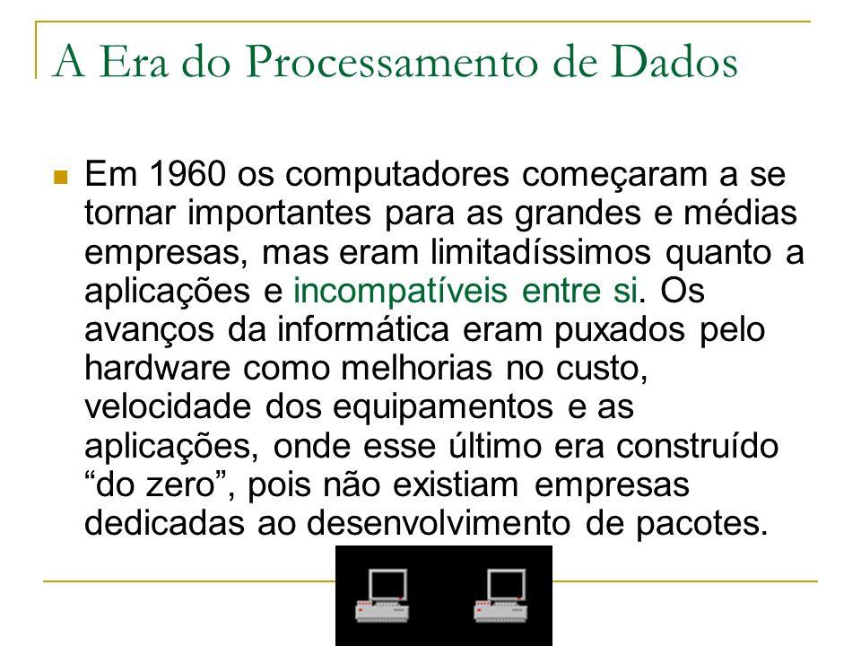 A Era do Processamento de Dados