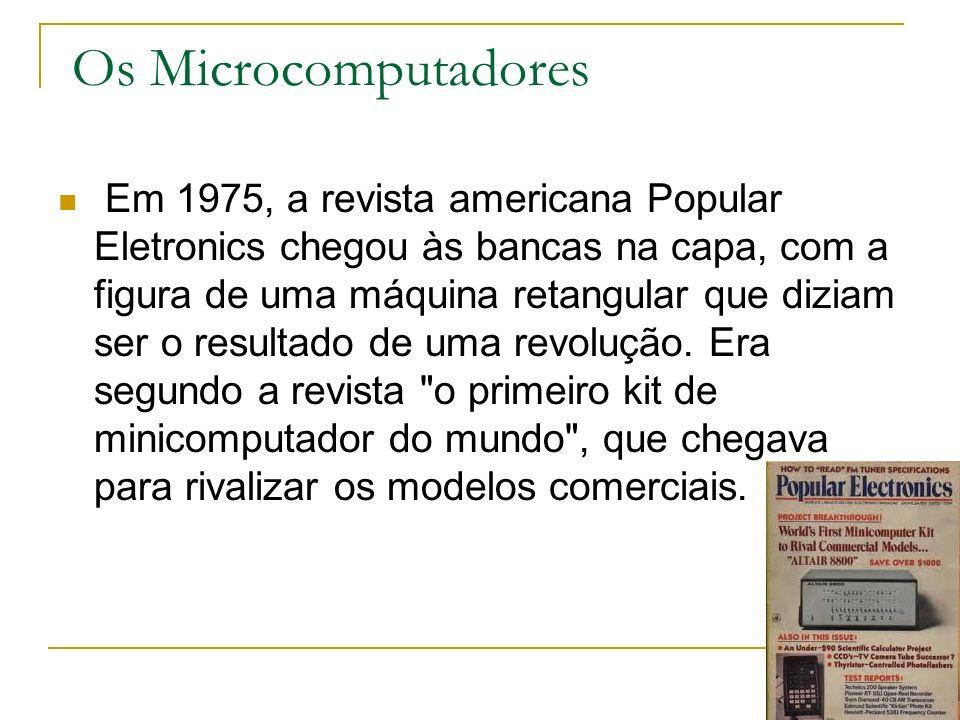 Os Microcomputadores