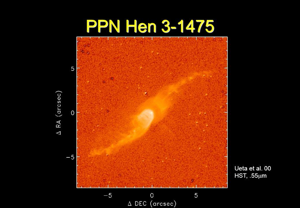 PPN Hen 3-1475 Ueta et al. 00 HST, .55m