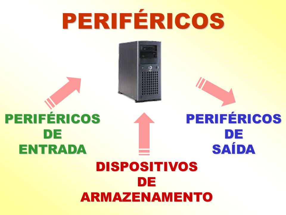 PERIFÉRICOS PERIFÉRICOS DE ENTRADA PERIFÉRICOS DE SAÍDA