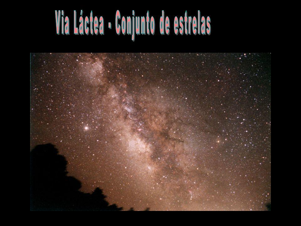 Via Láctea - Conjunto de estrelas