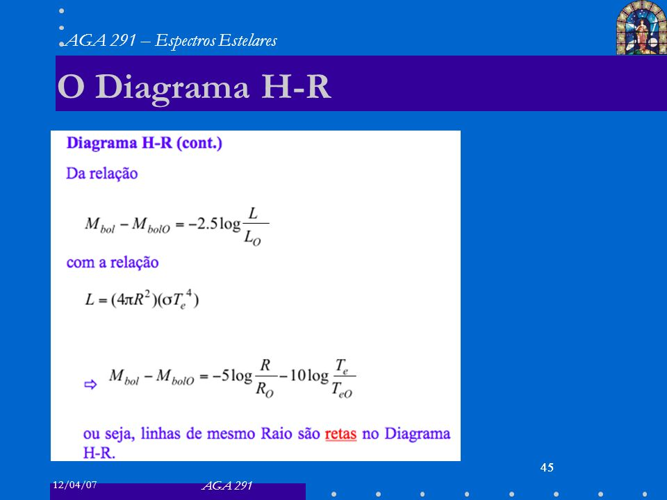O Diagrama H-R 45