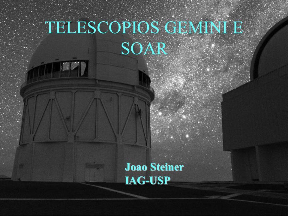 TELESCOPIOS GEMINI E SOAR