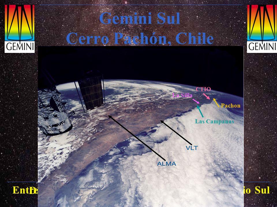 Gemini Sul Cerro Pachón, Chile