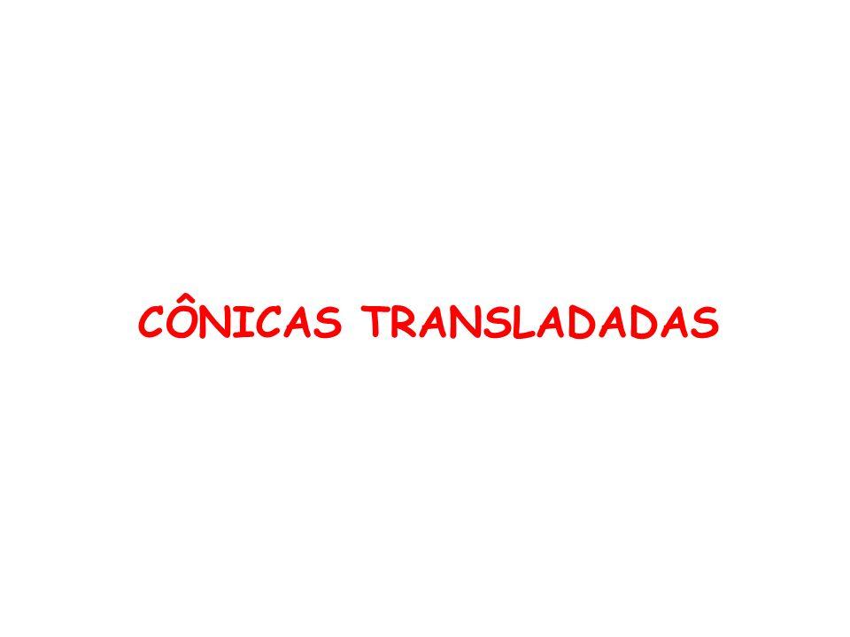 CÔNICAS TRANSLADADAS