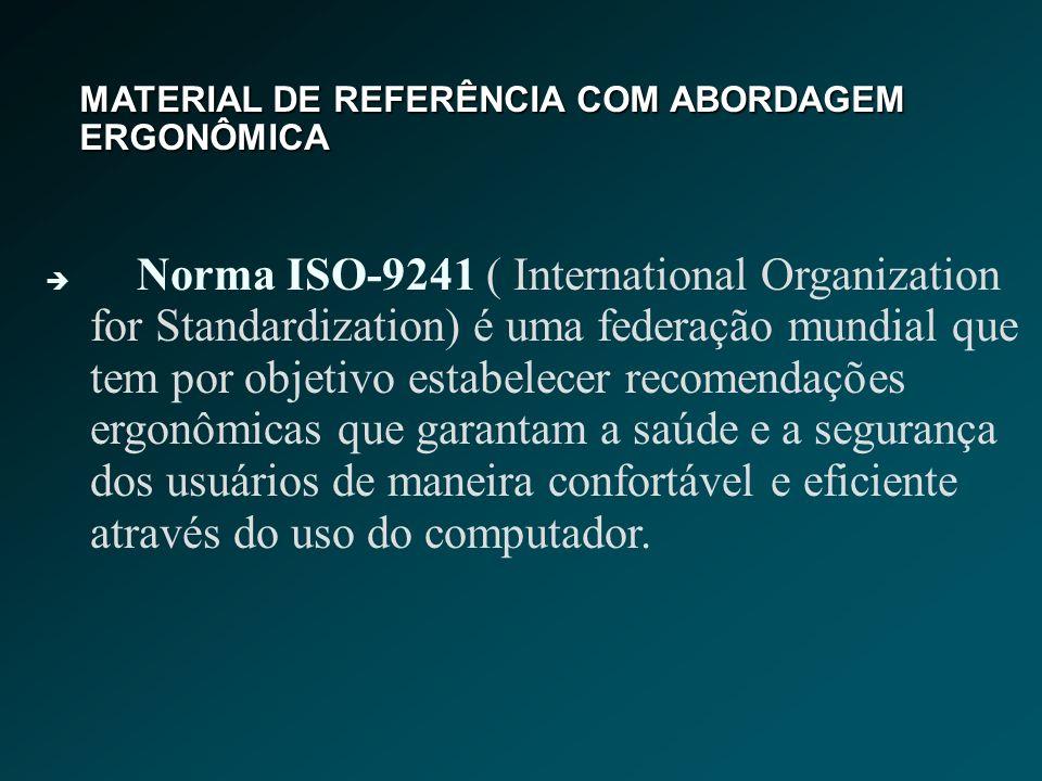 MATERIAL DE REFERÊNCIA COM ABORDAGEM ERGONÔMICA