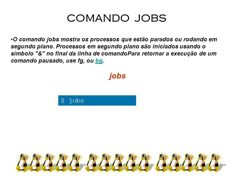 COMANDO JOBS jobs $ jobs