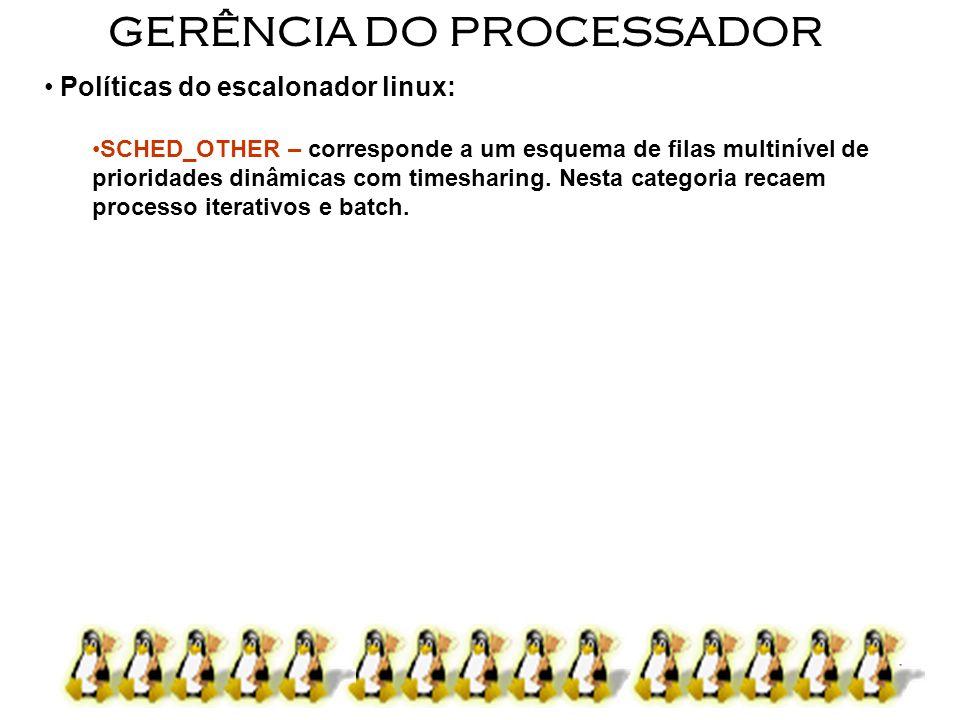 GERÊNCIA DO PROCESSADOR