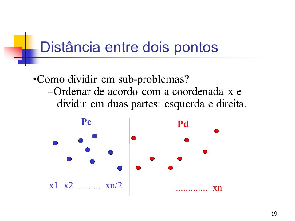 Distância entre dois pontos