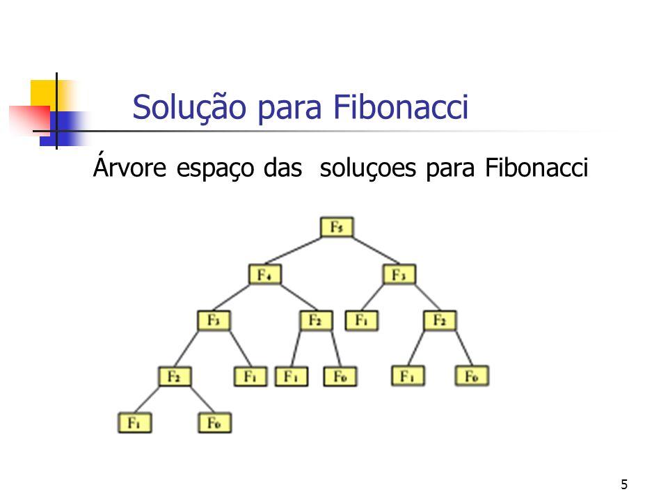 Solução para Fibonacci