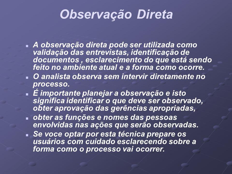Observação Direta