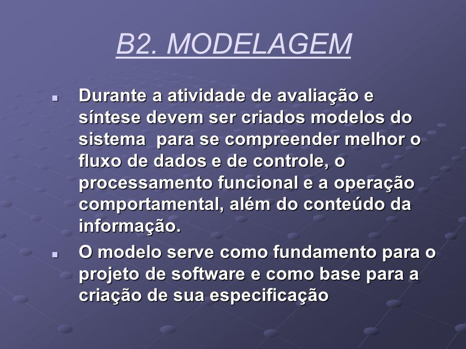 B2. MODELAGEM