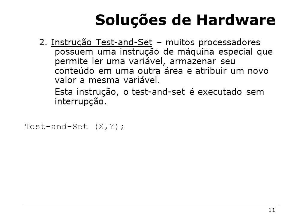 Soluções de Hardware