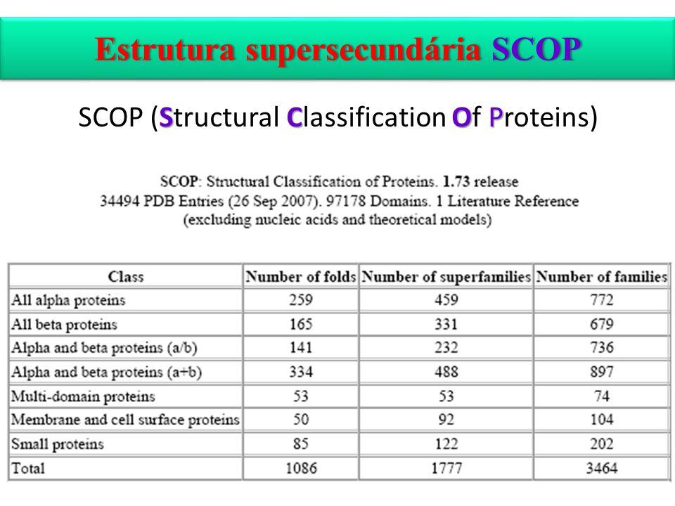 Estrutura supersecundária SCOP