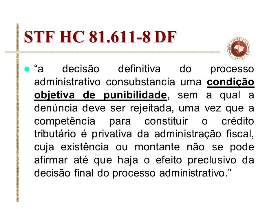 STF HC 81.611-8 DF